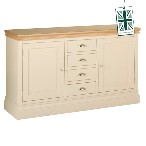 Painted Lounge  1.5 4 DRAWER SIDEBOARD