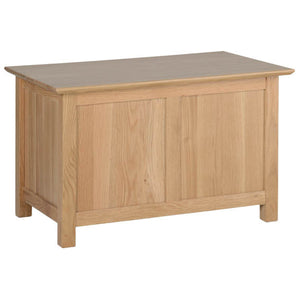 Contemporary Oak SMALL BLANKET BOX