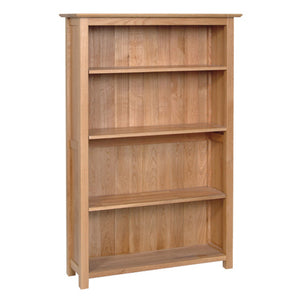 Contemporary Oak 5' BOOKCASE