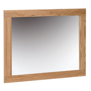 Contemporary Oak WALL MIRROR 750 * 600