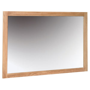 Contemporary Oak WALL MIRROR 1300 * 900