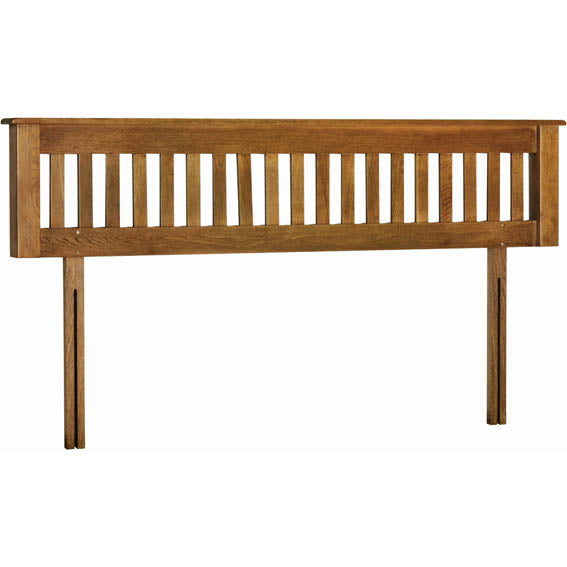 Rustic Oak 6' HEADBOARD