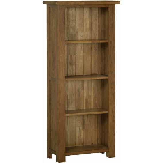 Rustic Oak 5' NARROW BOOKCASE