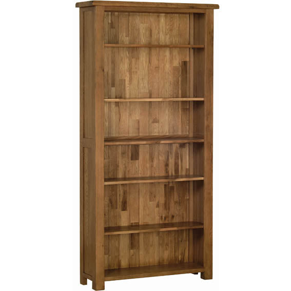 Rustic Oak 6' BOOKCASE