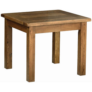 Rustic Oak 3' X 3' FIXED TOP TABLE