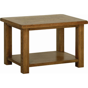 Rustic Oak COFFEE TABLE 760mm