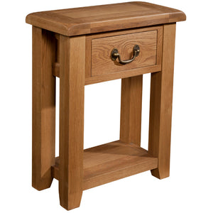 Chunky Wax 1 DRAWER CONSOLE TABLE