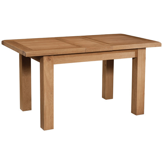 Chunky Wax DINING TABLE WITH 1 EXTENSION 120-153 X 80