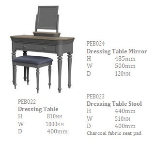 Slate Dressing Table