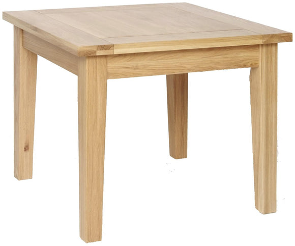 Contemporary Oak 3' X 3' FIXED TABLE