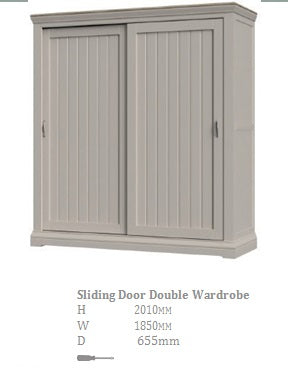 Mist Sliding Door Robe