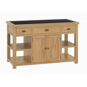 Kitchen Large Island Unit - oak