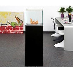Bio Blaze Column Large Free Standing Ethanol Fireplaces