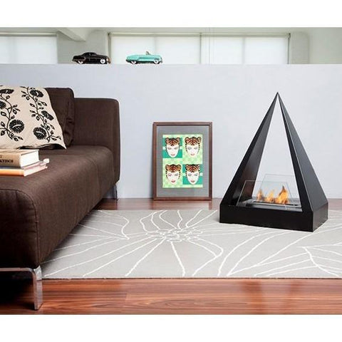 Bio Blaze Keops Free Standing Ethanol Fireplaces - eFireplaceDirect.com