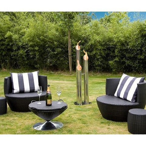 Bio Blaze Pipes Small Outdoor Bio-Ethanol Fireplaces - eFireplaceDirect.com