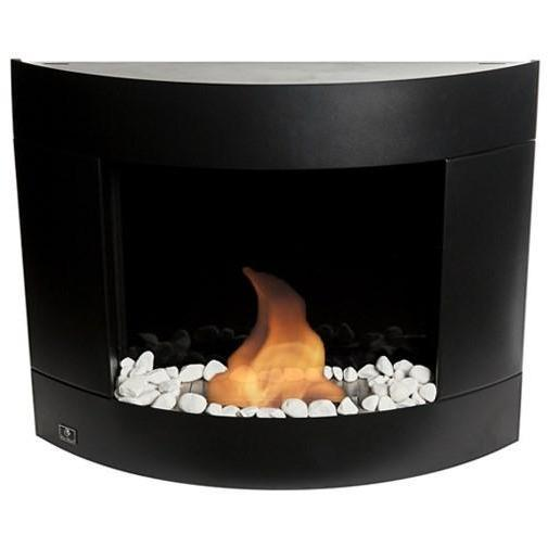 Bio Blaze Diamond II Wall Mounted Bio-Ethanol Fireplaces - eFireplaceDirect.com