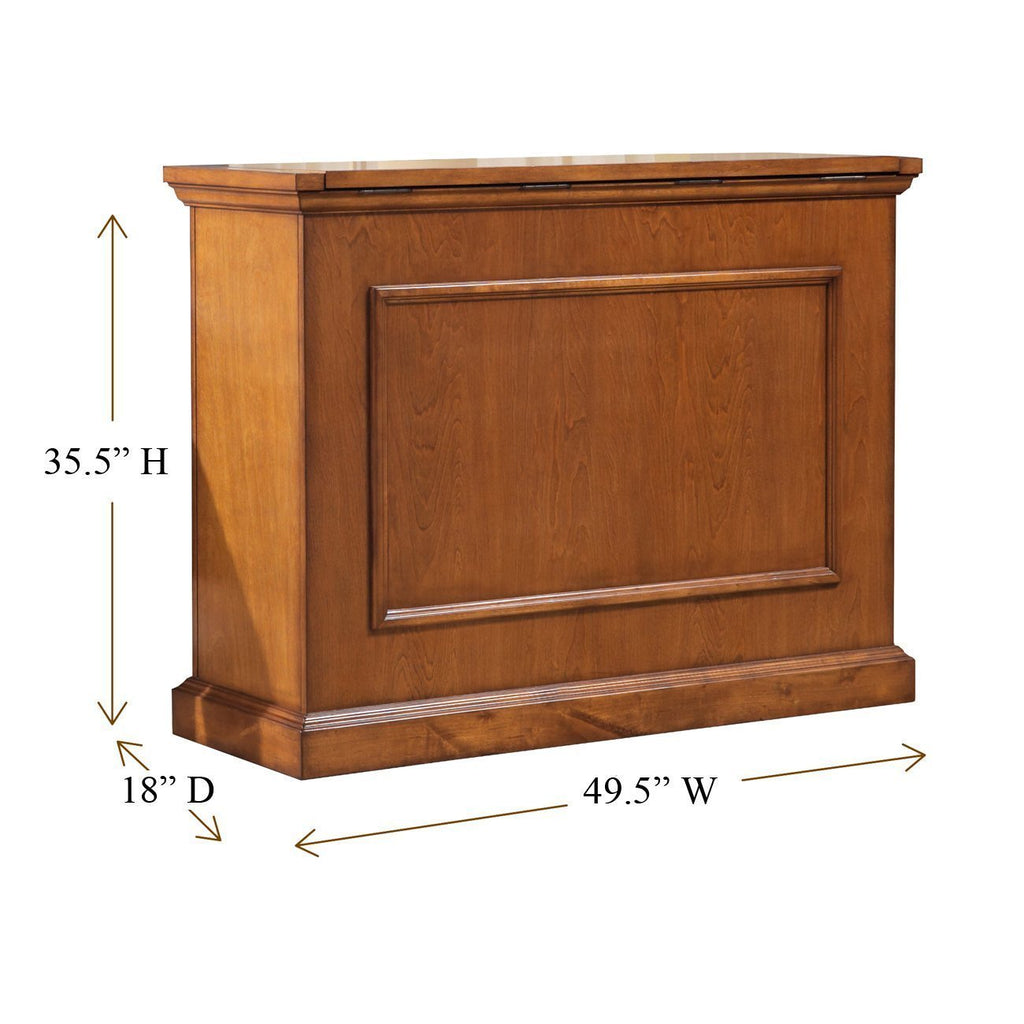Touchstone Elevate 72009 Honey Oak TV Lift Cabinet