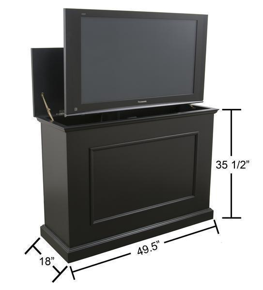 Touchstone Elevate 72011 Black TV Lift Cabinet