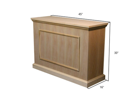 Touchstone Mini Elevate 75012 Unfinished TV Lift Cabinet
