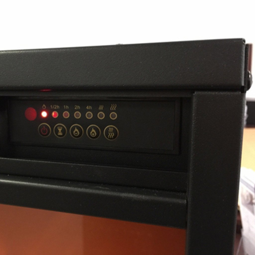 "Touchstone Emblazon50 80101 50"" Linear Electric Fireplace"