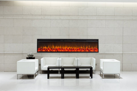"Touchstone Emblazon 72 80103 72"" Linear Electric Fireplace"