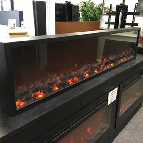 "Touchstone Emblazon 96 80104 96"" Linear Electric Fireplace"