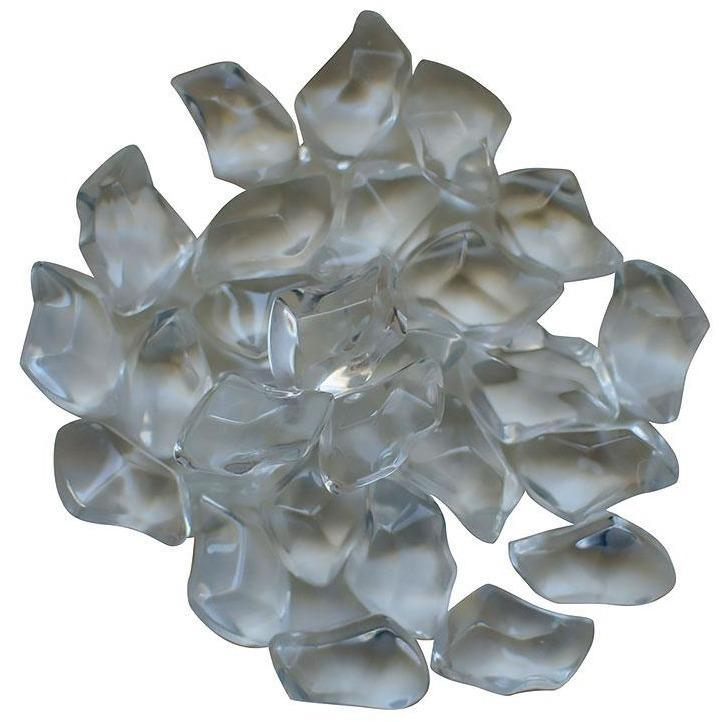 Amantii Clear Gem Fire Glass - 5 lbs. - AMSF-GLASS-06 - eFireplaceDirect.com