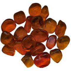 Amantii Orange Small Bead Fire Glass - 5 lbs. - AMSF-GLASS-10 - eFireplaceDirect.com