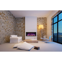 Amantii Panorama DEEP Series BI-40-DEEP Built-In Electric Fireplace
