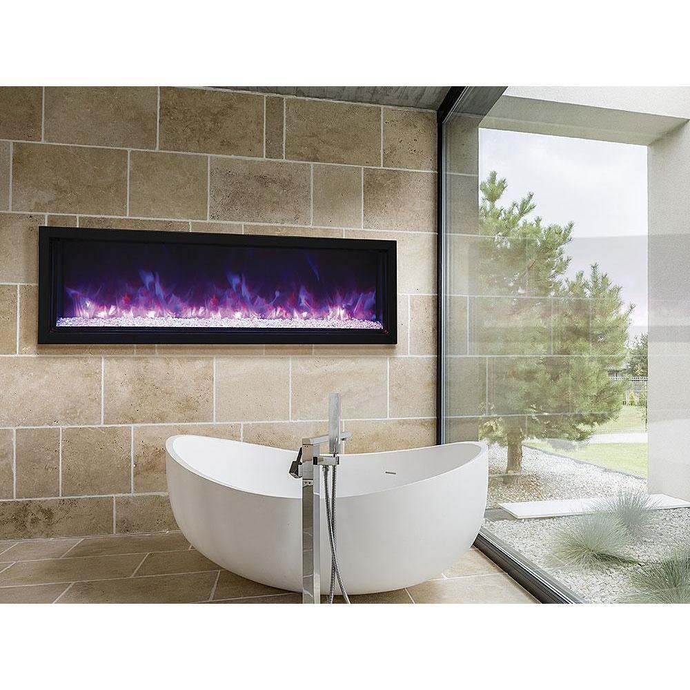 Amantii Panorama Extra Slim Series-BI-60-XTRASLIM-Built-In Electric Fireplaces - eFireplaceDirect.com