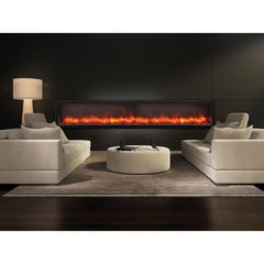 Amantii Panorama DEEP Series BI-88-DEEP Built-In Electric Fireplace