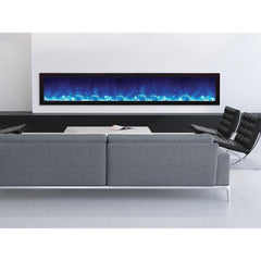 Amantii Panorama Slim Series BI-88-SLIM Built-In Electric Fireplace