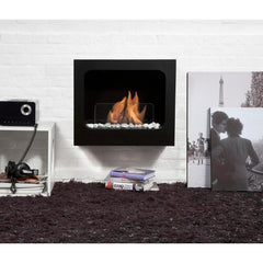 Bio Blaze Columbus Wall Mounted Bio-Ethanol Fireplaces