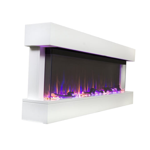 "Touchstone Chesmont 50"" 80033 50"" Wall Mount Electric Fireplace"