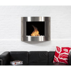 Bio Blaze Diamond II Wall Mounted Bio-Ethanol Fireplaces