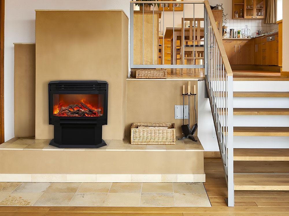 Sierra Flame Free Stand Series FS-26-922 Electric Fireplace