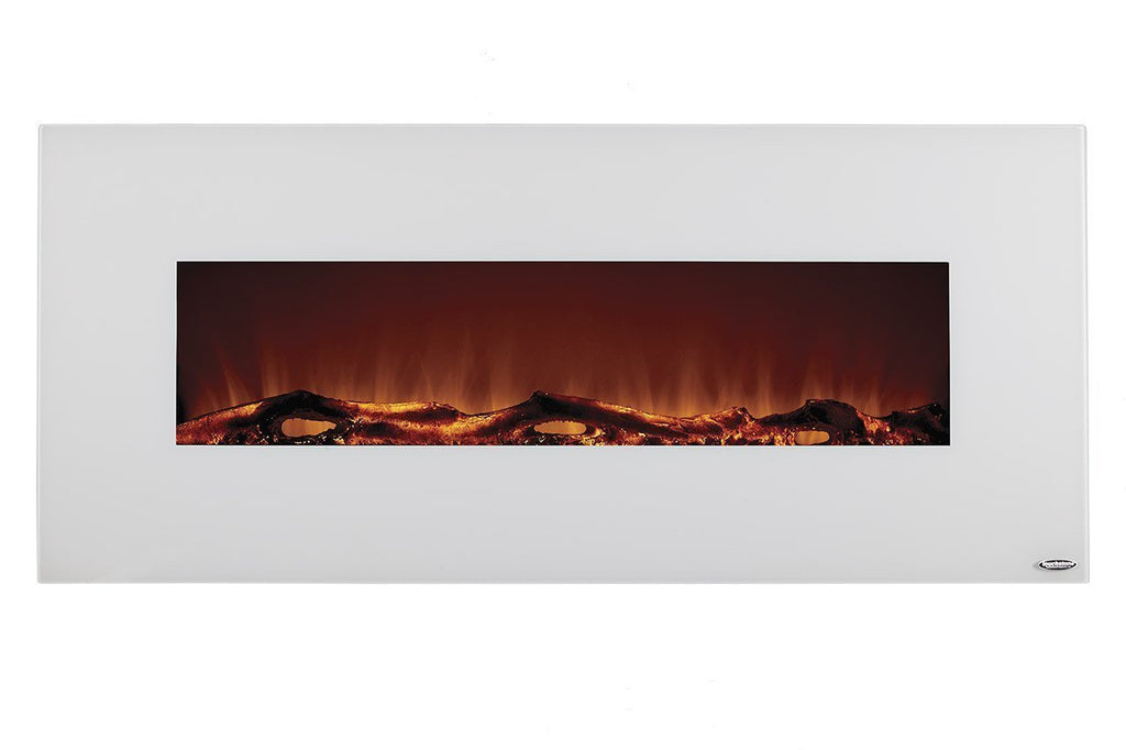 "Touchstone Ivory 80002 50"" Wall Mounted Electric Fireplace"