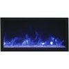 Image of Remii Extra Tall Indoor/Outdoor Frameless Built-in Electric Fireplace - eFireplaceDirect.com