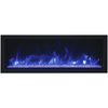 Image of Remii Extra Slim Indoor/Outdoor Frameless Built-in Electric Fireplace - eFireplaceDirect.com