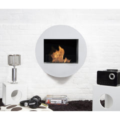 Bio Blaze Qwara Wall Mounted Bio-Ethanol Fireplaces
