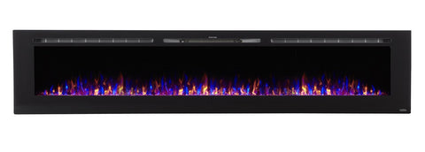 "Touchstone Sideline 100 80032 100"" Recessed Electric Fireplace"