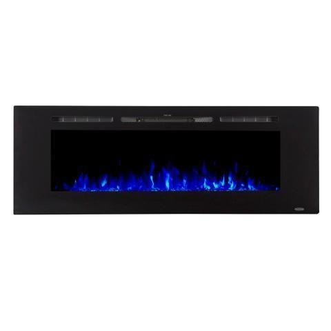 "Touchstone Sideline 60 80011 60"" Recessed Electric Fireplace"