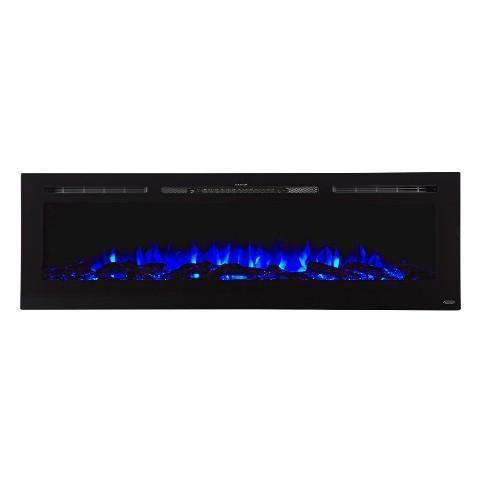 "Touchstone Sideline 72 80015 72"" Recessed Electric Fireplace"