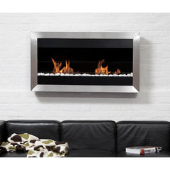 Bio Blaze Square Large II Wall Mounted Bio-Ethanol Fireplaces
