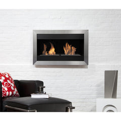 Bio Blaze Square Small II Wall Mounted Bio-Ethanol Fireplaces