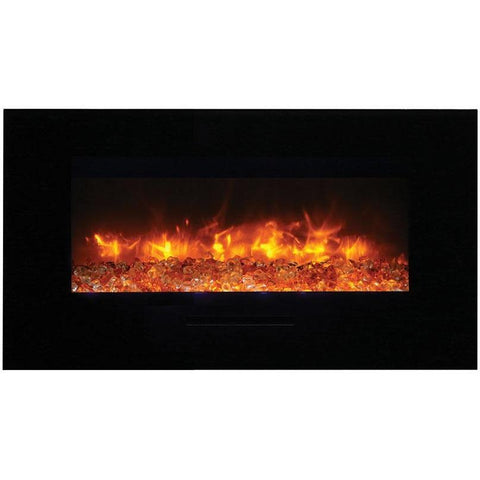 Amantii Wall Mount / Flush Mount Series-WM-FM-34-4423-BG-Wall Mount Electric Fireplaces - eFireplaceDirect.com