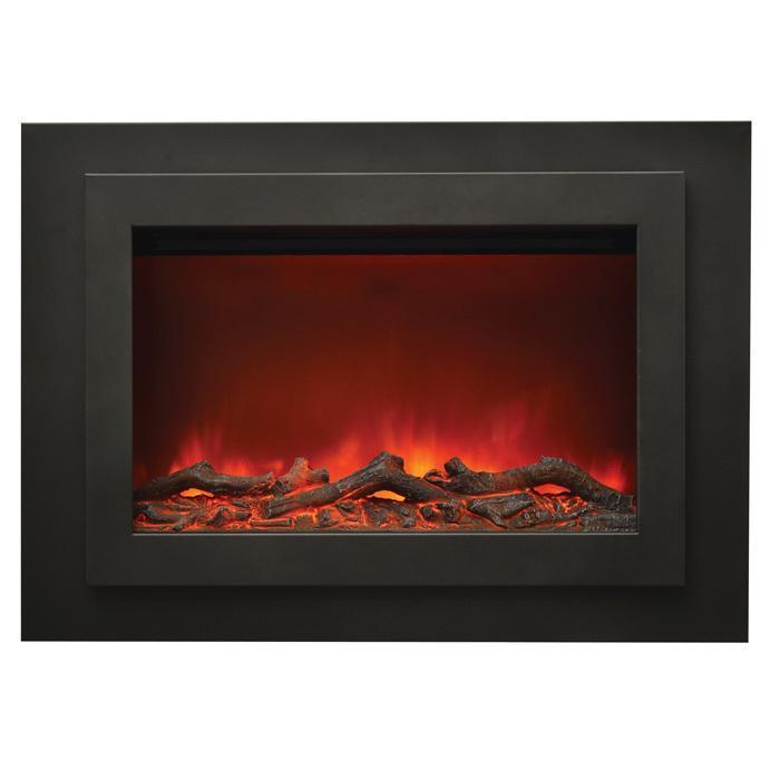 Sierra Flame Zero Clearance Series ZC-FM-37 Electric Fireplace
