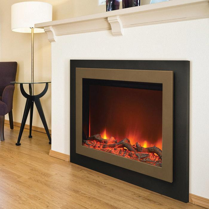 Sierra Flame Zero Clearance Series ZC-FM-45 Electric Fireplace