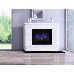 Amantii Zero Clearance Flush Mount Series ZECL-30-3226-FM-BG Built-In Electric Fireplace