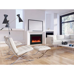 Amantii Zero Clearance Series ZECL-39-4134-BG Built-In Electric Fireplace